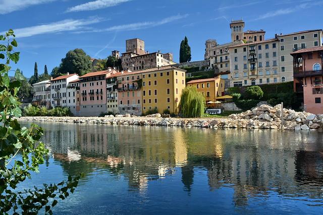 Bassano del Grappa fiume Brenta