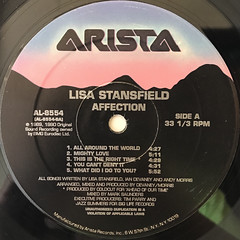 LISA STANSFIELD:AFFECTION(LABEL SIDE-A)
