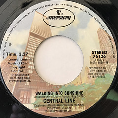 CENTRAL LINE:WALKING INTO SUNSHINE(LABEL SIDE-A)