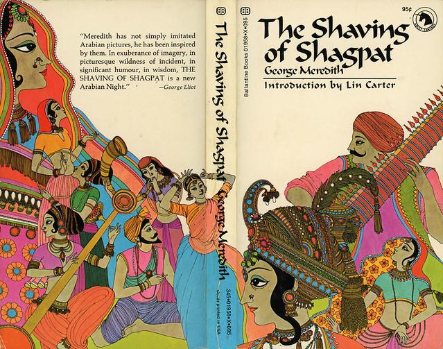 Ballantine Books 01958-X - George Meredith - The Shaving of Shagpat (with back)