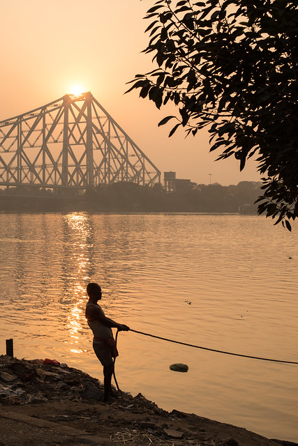 Setting Sun, Calcutta