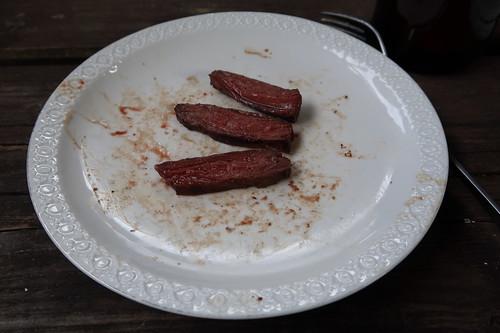 Kronfleisch zum Probieren