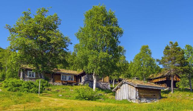Henriksen tunet, Bykle, Norway