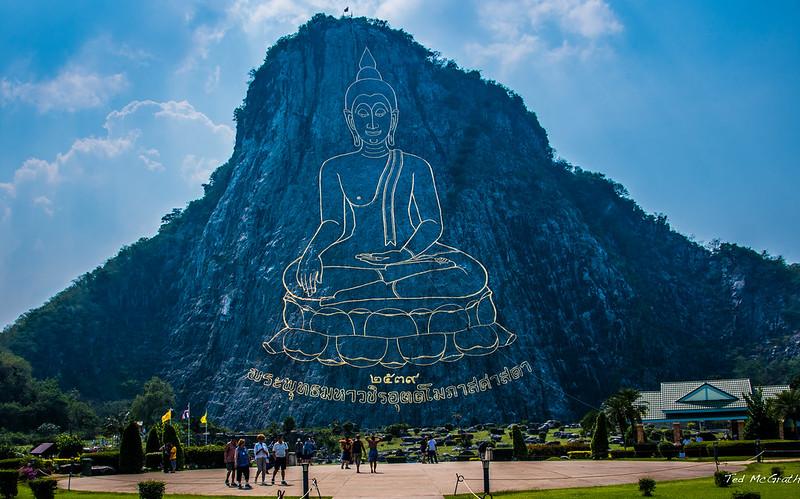 2019 - Thailand - Buddha Mountain (Khao Chi Chan)