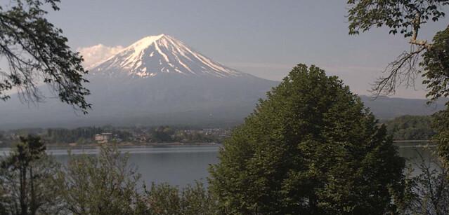 Web Cam Mt Fuji  camera Lake Kawaguchiko in Japan