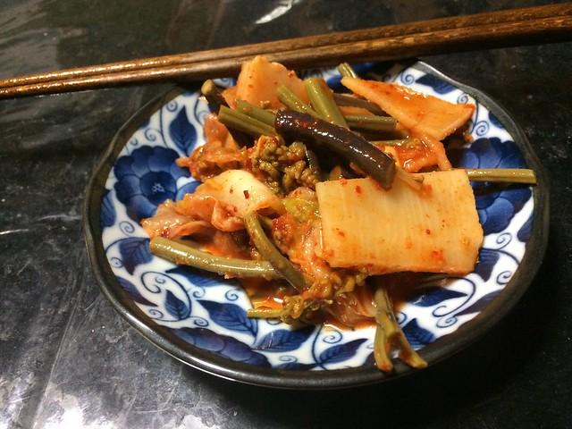 KIMUCHI with Wild Vegetables
