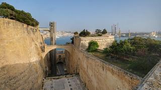 MALTA, the three Cities, from Valletta