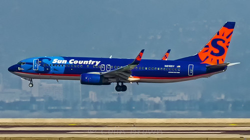 N819SY - Boeing 737-86N - Sun Country Airlines | by Colin Brown Photography