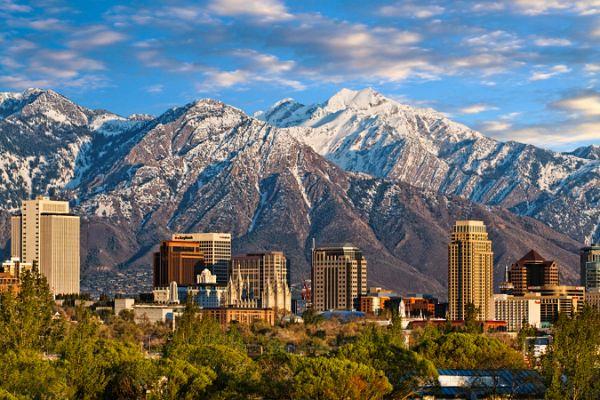 Springtime Rocky Mountain view