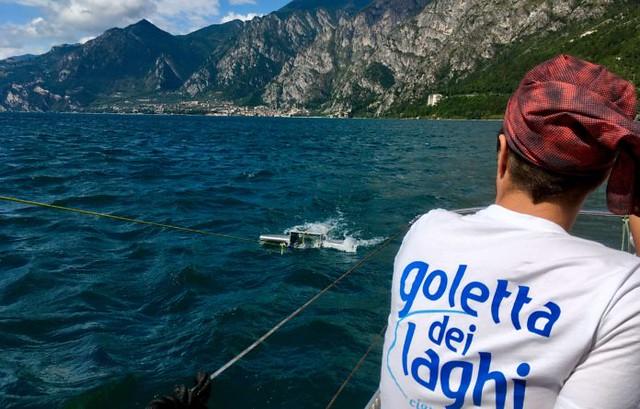 palstica nei pesci dei laghi italiani