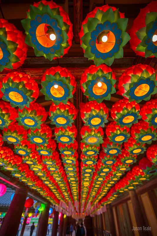 Bulguksa Lanterns