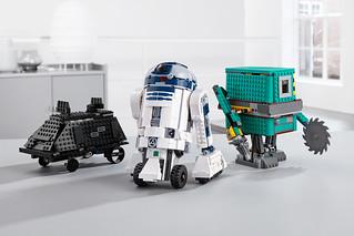 會動只是基本,它們還能達成各種指令任務!! LEGO 75253 Boost《星際大戰》機器人指揮官組合 Droid Commander Set