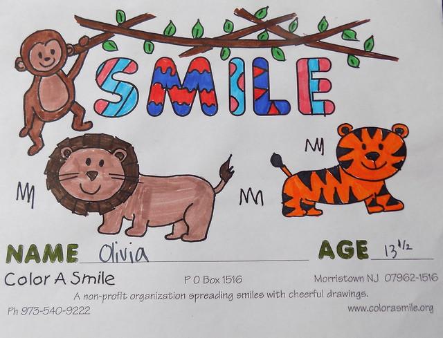Color a Smile