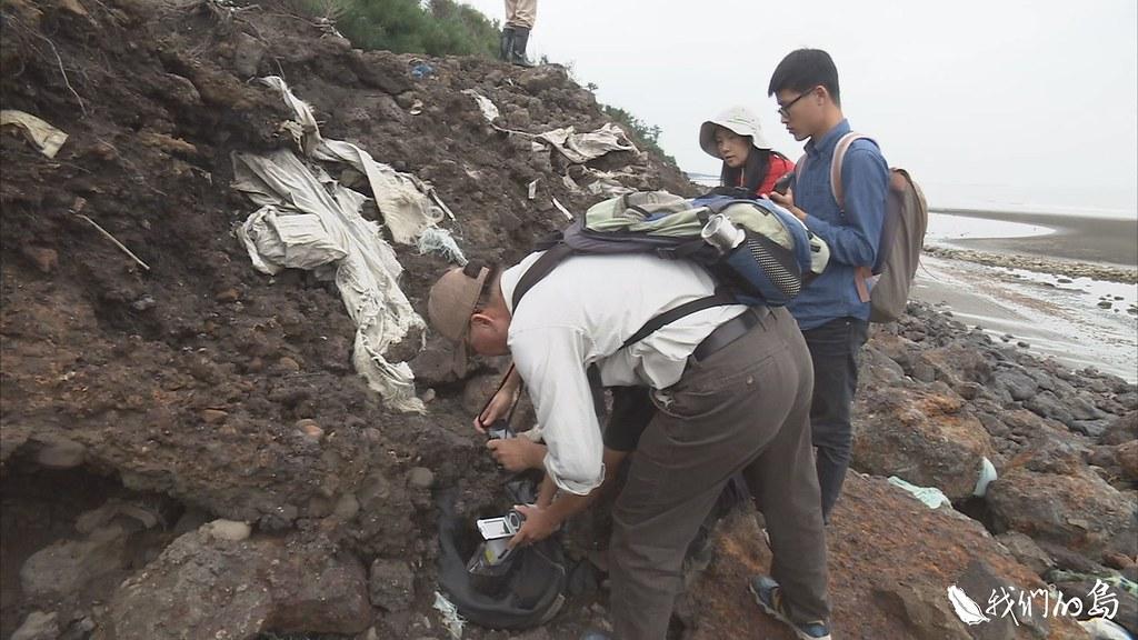 2014年,劉靜榆就發現這裡的環境有異狀,她找尋台南社大團隊,到現場協助進一步採樣化驗。