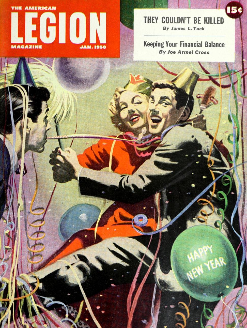The American Legion Magazine - January 1950