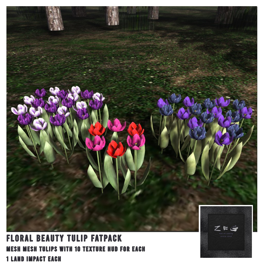 {zfg} home floral beauty tulip fatpack - TeleportHub.com Live!