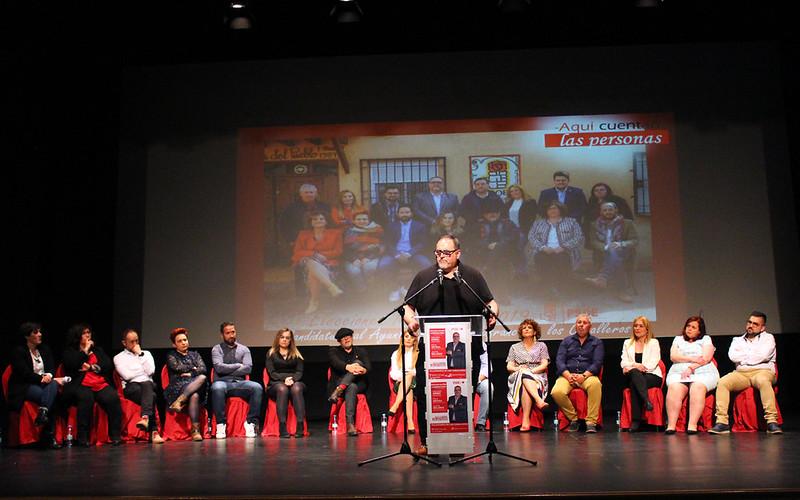 CANDIDATURA PSOE MUNICIPALES VILLAFRANCA