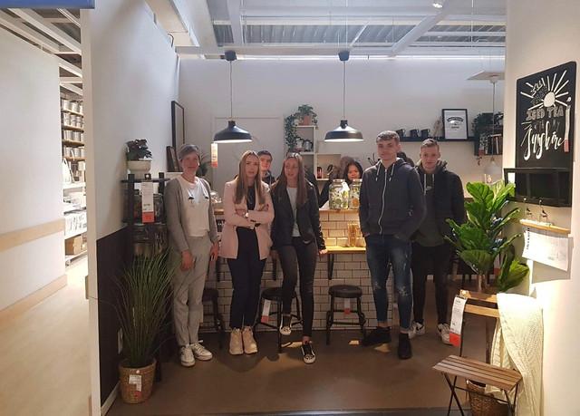 5ORA op bezoek bij Ikea