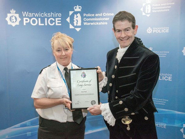 Warwickshire Police Chief Constable awards evening May 2019