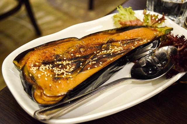 Miso Roasted Aubergine at Eat Tokyo, Notting Hill Gate