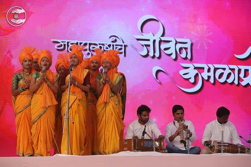 Traditional devotional song Namrata Mahaandadkar from Mhasla MH