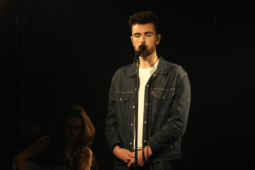 Duncan Laurence (The Netherlands) - Showcase at The Zone Tel Aviv