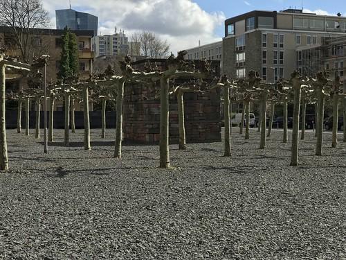 Borneplatz Memorial Site. From History Comes Alive in Frankfurt am Main