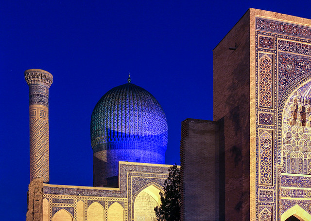 ABM (Another Blue Monday) / Gur-e-Amir, Samarkand, Uzbekistan