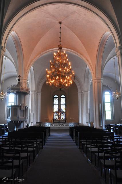 The church at Karlsborg