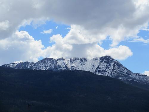 salmon arm shuswap clouds mountains sky bc british columbia canada