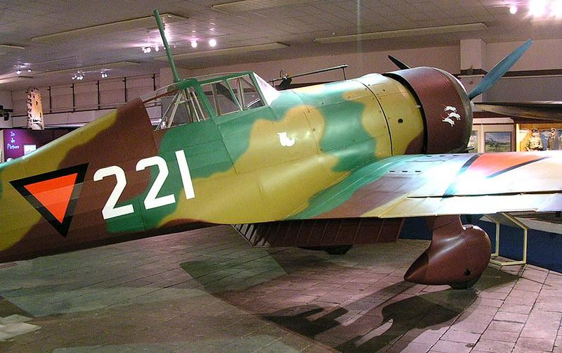 Fokker D. XXI 00014