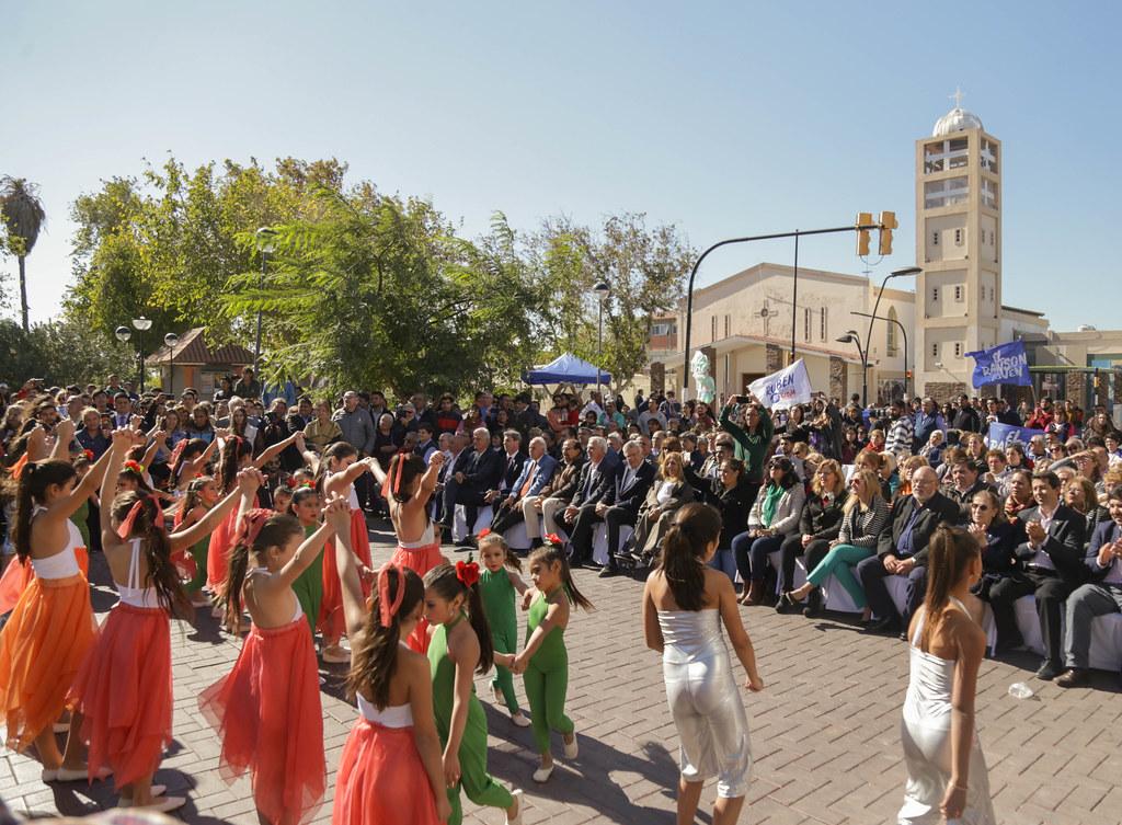 2019-05-13 PRENSA: Inauguracion de la Semipeatonalización de Rawson