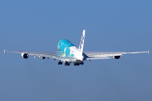 All Nippon Airways (ANA)  Airbus A380-841 F-WWAF (JA382A)