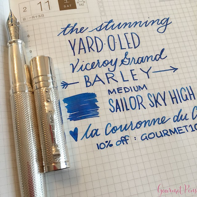 Yard-O-Led Viceroy Grand Barley Fountain Pen 25