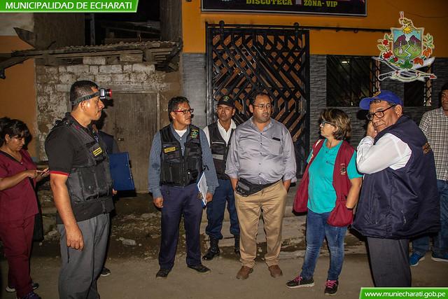 Se detectó locales nocturnos sin licencia de funcionamiento en operativo inopinado en Ivochote