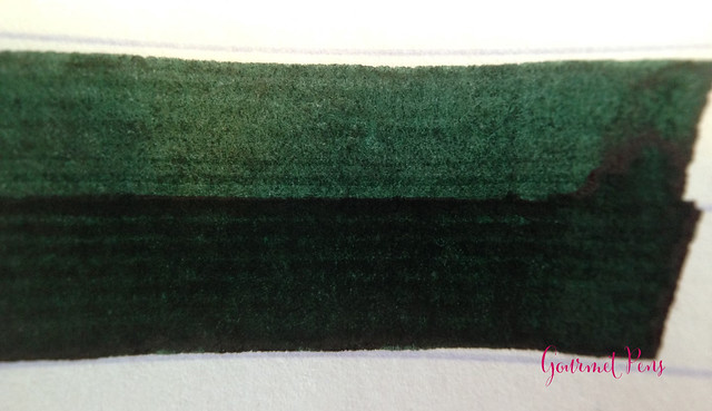 Cult Pens Diamine Deep Dark Green Ink 3