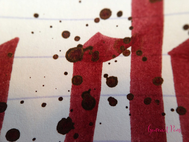 Cult Pens Diamine Deep Dark Red Ink 8
