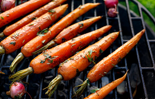 grilled carrots shutterstock_1084106897