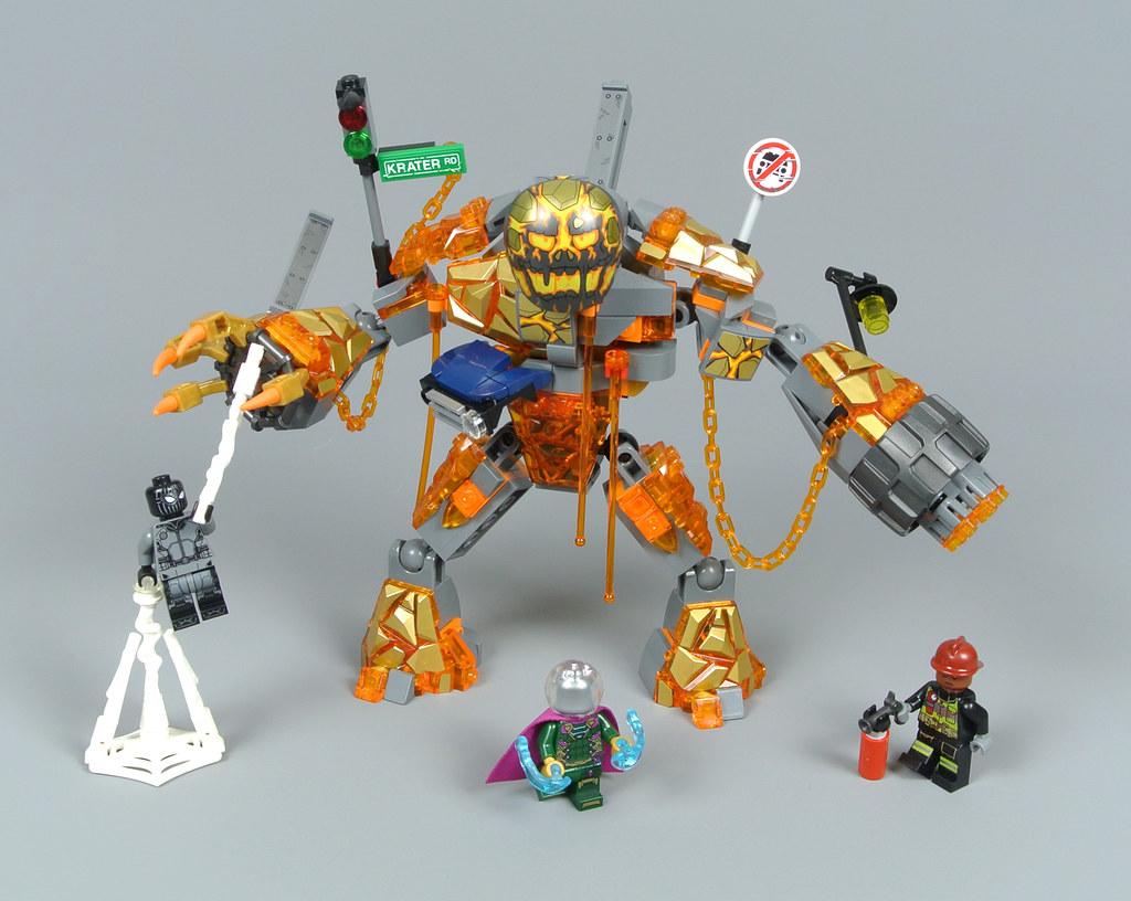 Review: 76128 Molten Man Battle | Brickset: LEGO set guide and ...