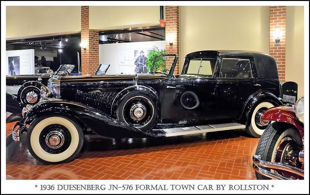 1936 Duesenberg JN-576 Formal Town Car