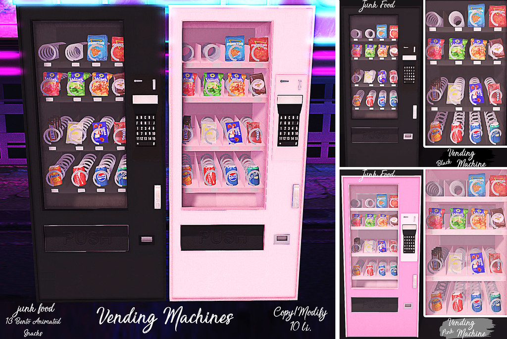 Junk Food - Vending Machines - TeleportHub.com Live!