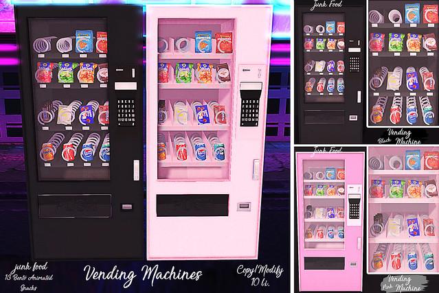 Junk Food - Vending Machines