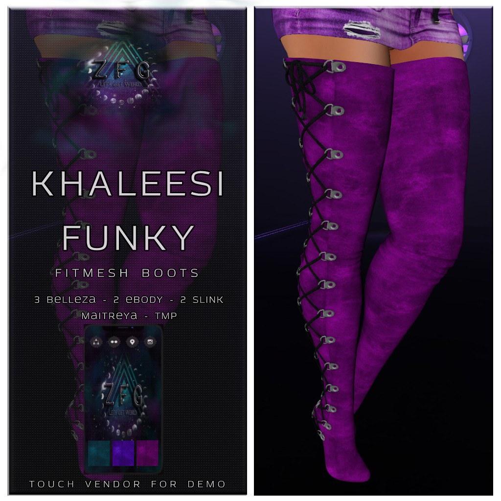 {zfg} khaleesi funky