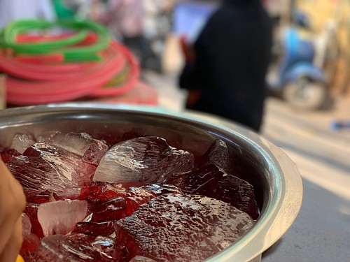 City Food - Rooh Afza Drink Stall, Old Delhi