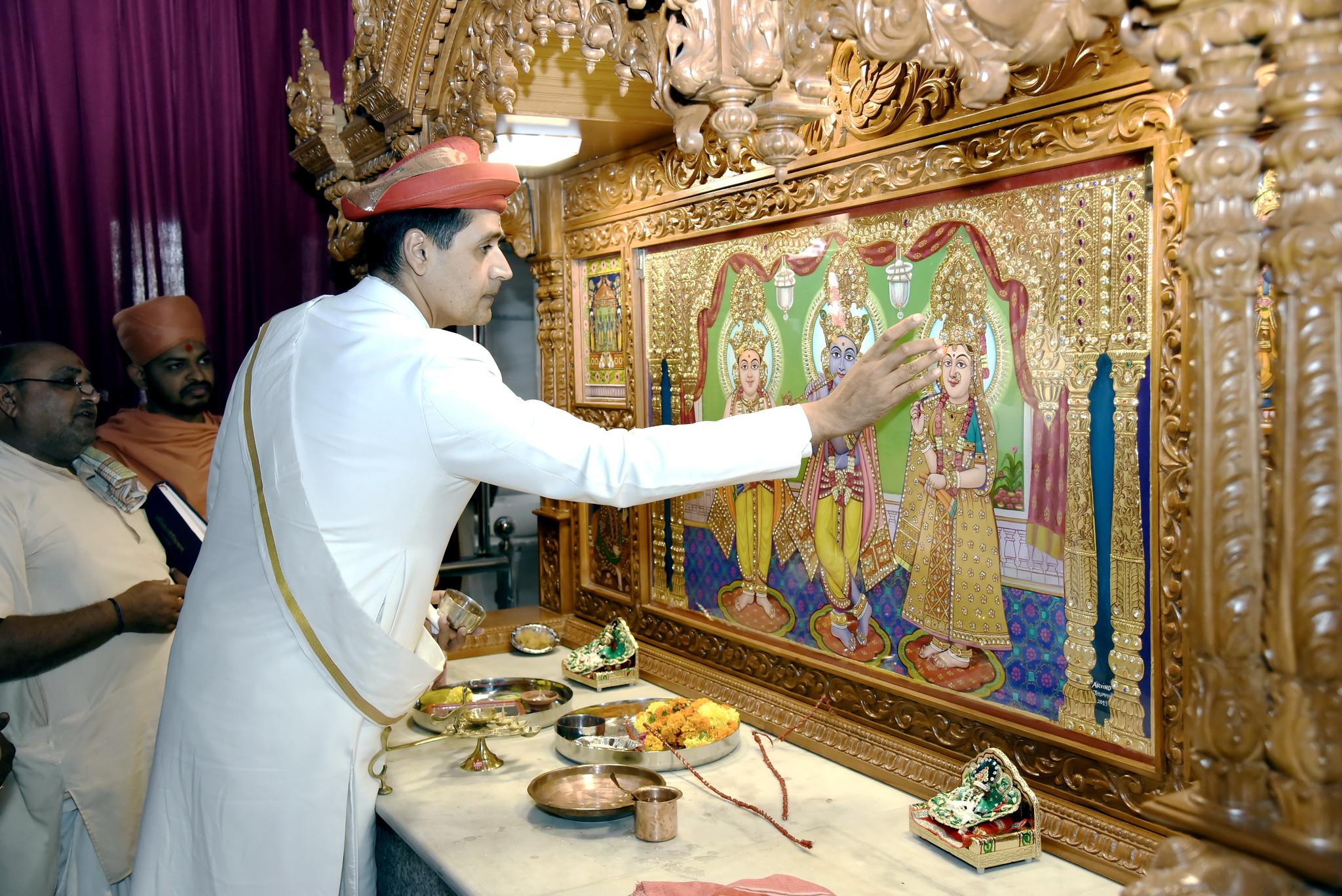 Murti Prathishta Mahotsav - Mithakhadi