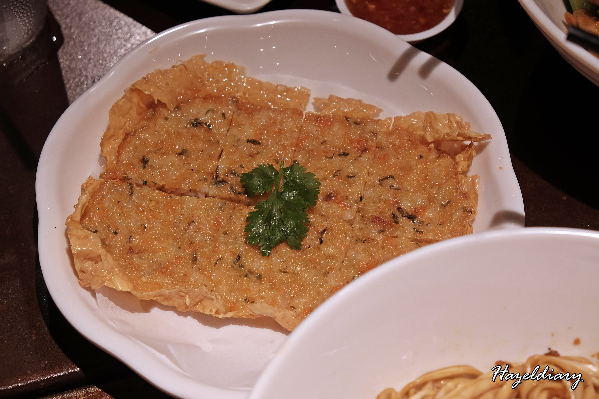 Ju Hao Taiwanese noodles Platform M-Prawn Pancake
