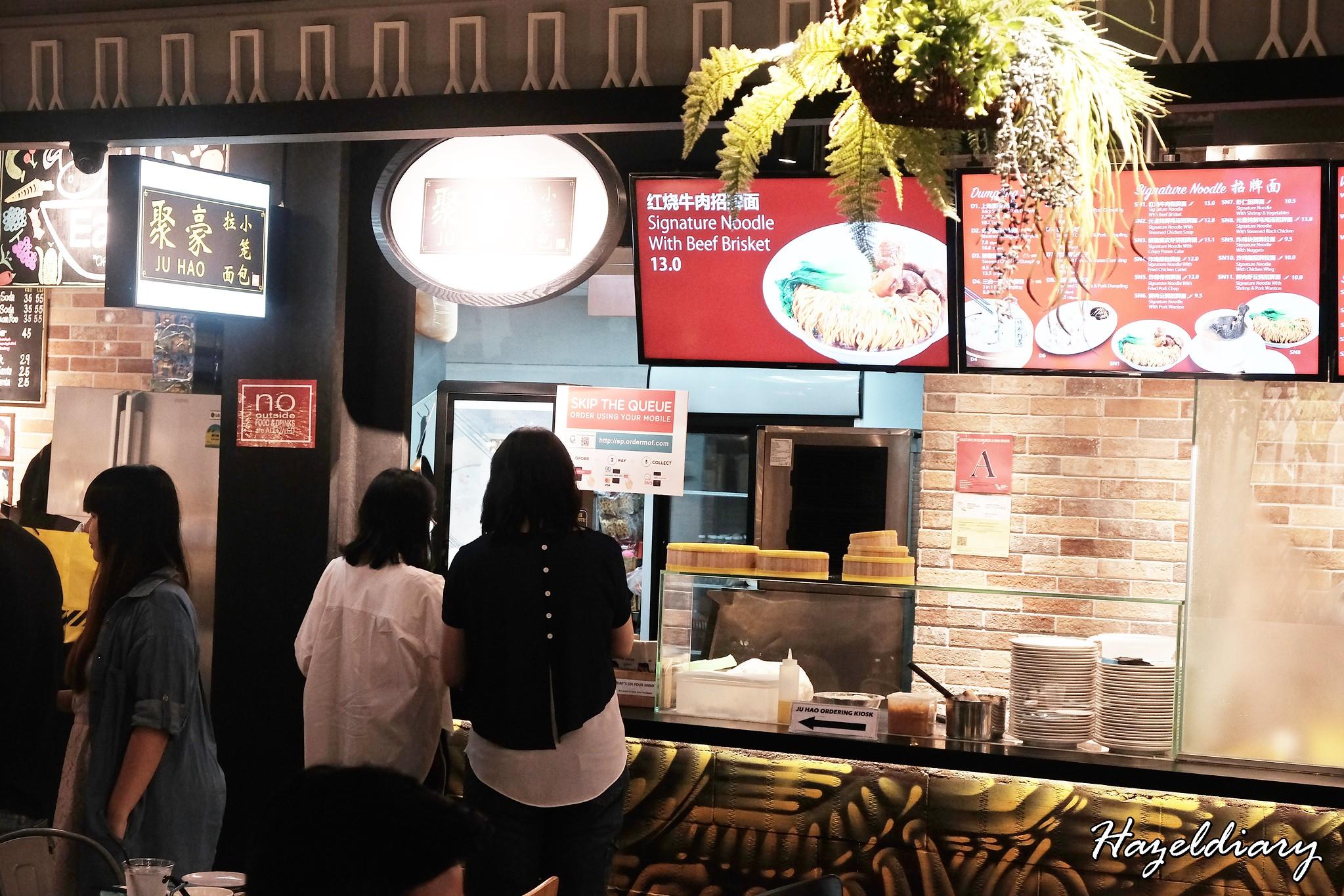 Ju Hao Taiwanese noodles Platform M