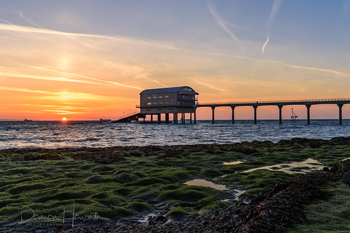 bembridge isleofwight sunrise beach coast sea hdr bembridgelifeboatstation nikon nikond750