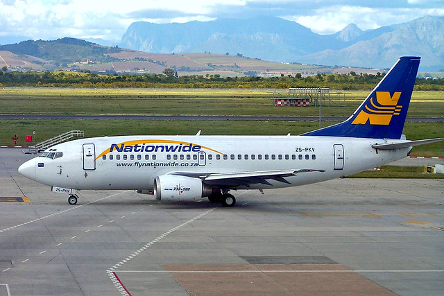 ZS-PKV Boeing 737-529 [25418] (Nationwide Airlines) Cape Town Int'l~ZS 17/09/2006
