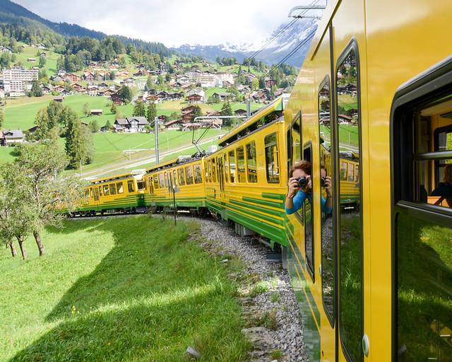 Tren de Grindelwald a Kleine Scheidegg